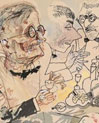 Grosz: Expressionist Art Is in Full Bloom